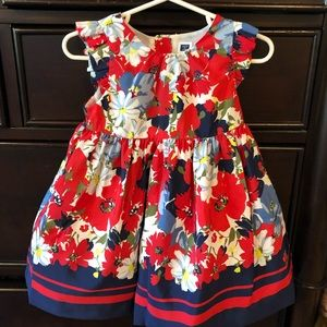 Janie and Jack little girls floral dress
